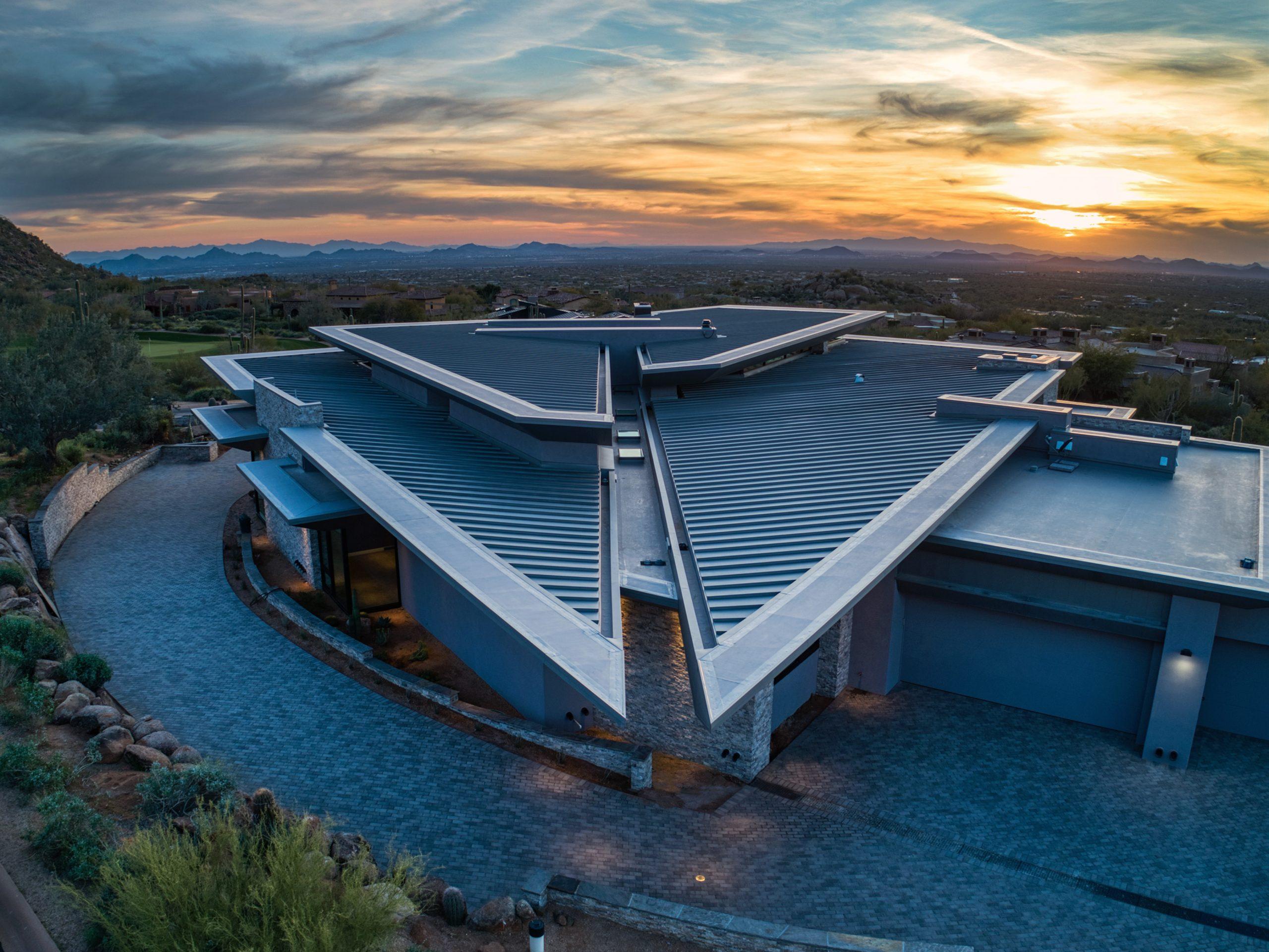 Peak Ventures Inc Estancia Lot 215 Contemporary Roofline