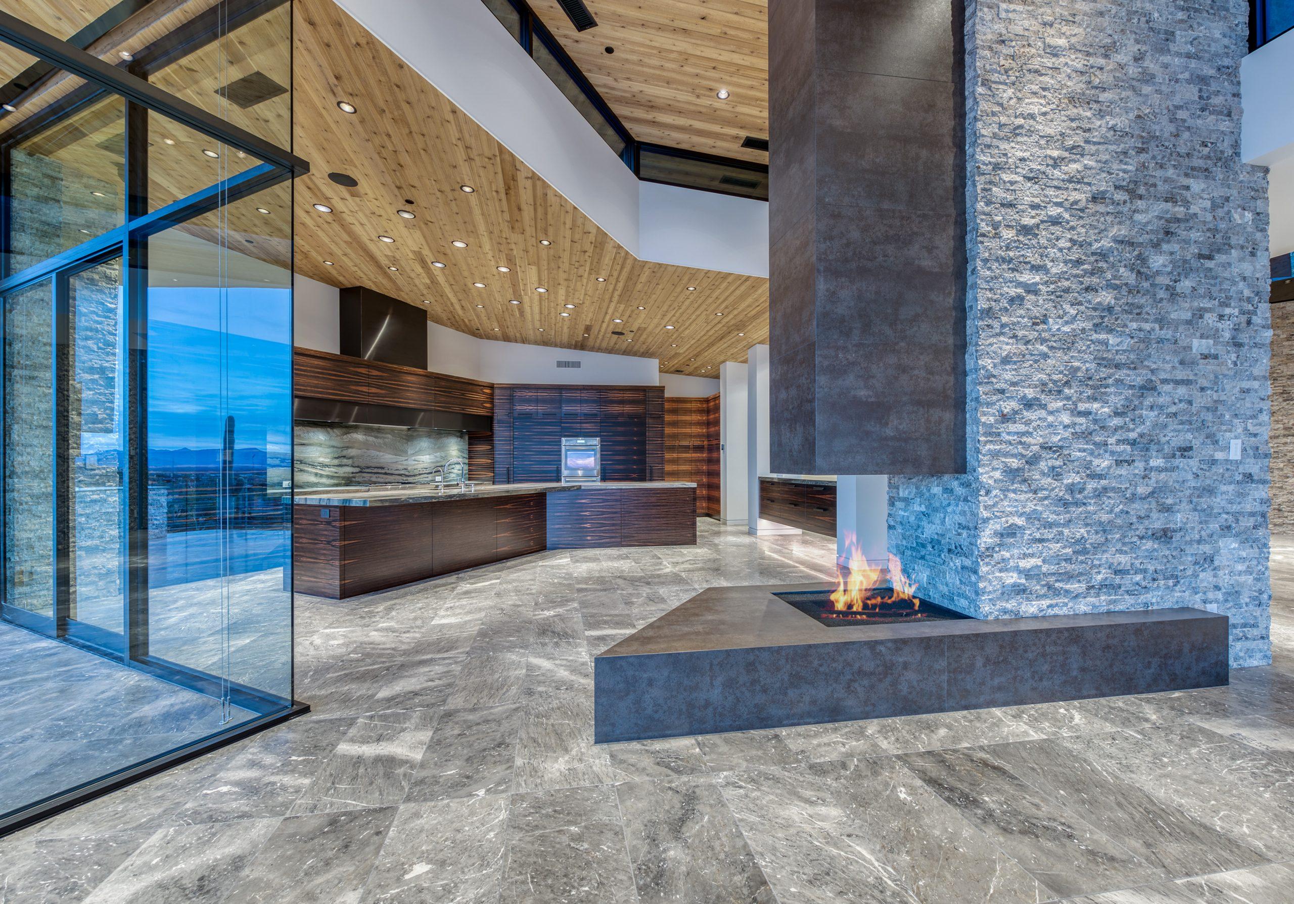 Peak Ventures Inc Estancia Lot 215 Contemporary Kitchen