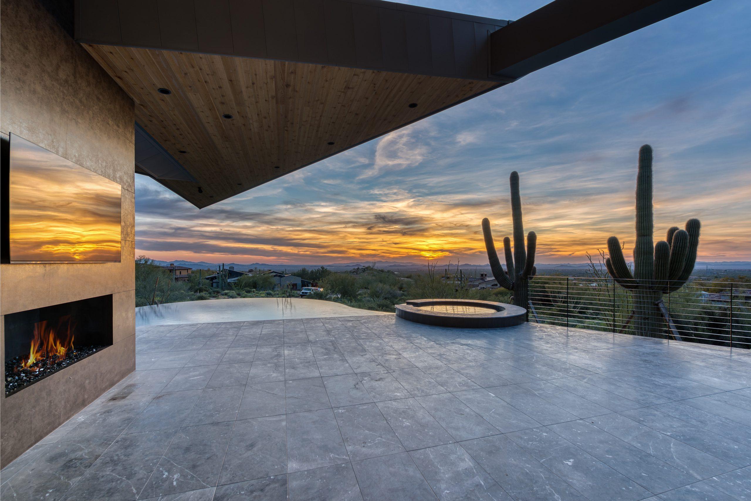 Peak Ventures Inc Estancia Lot 215 Spacious Patio View